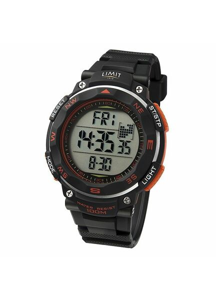 Limit Pro XR Countdown Watch - Black/Orange