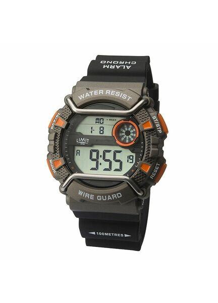 Limit WireGuard Digital Watch - Black/Orange