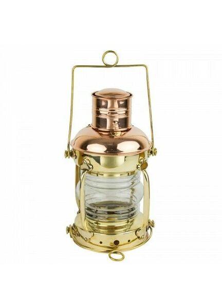 Nauticalia Brass & Copper Anchor Lamp - Oil