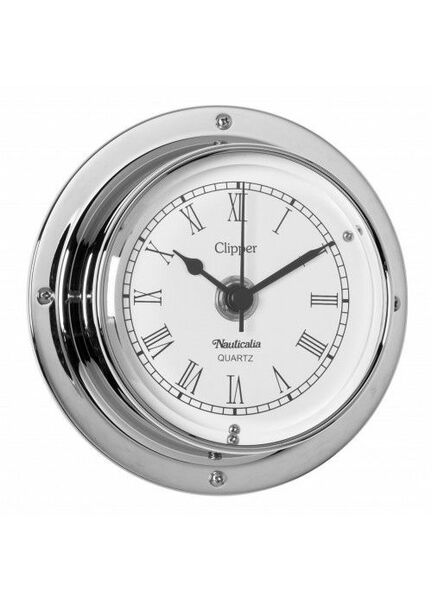 Nauticalia Clipper Clock (QuickFix) Chrome