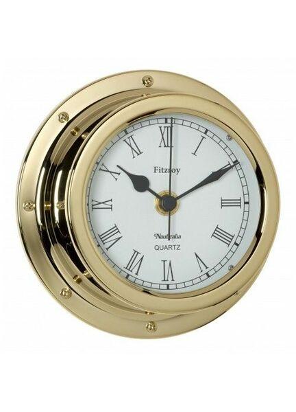 Nauticalia Fitzroy Clock (QuickFix) Brass