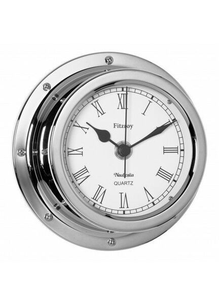Nauticalia Fitzroy Clock (QuickFix) Chrome