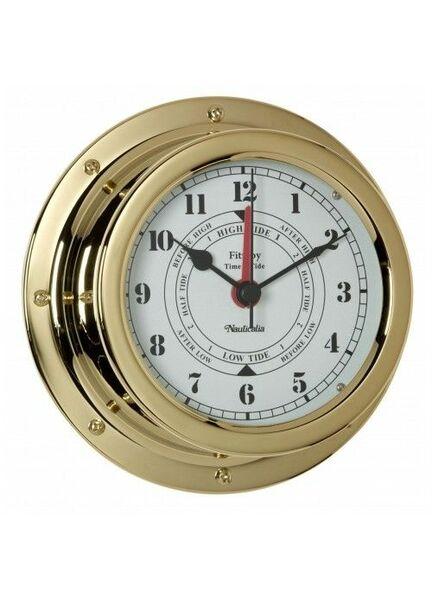 Nauticalia Fitzroy Tide Clock (QuickFix) Brass