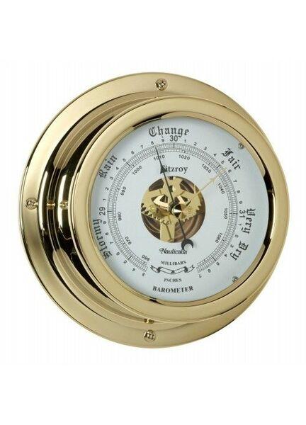 Nauticalia Waterproof Barometer (QuickFix) Brass
