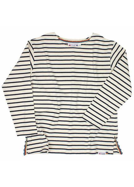 Nauticalia Unisex Breton T-Shirts with three-quarter-length sleeves