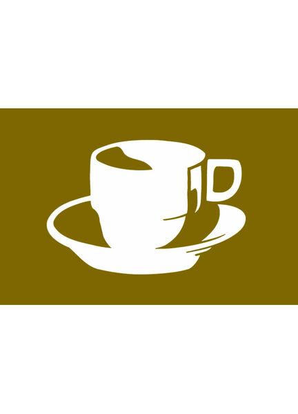 Talamex Coffee Flag 30cm x 45cm