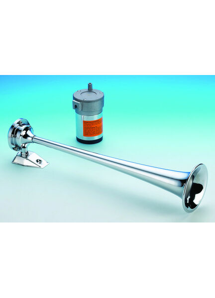 Talamex Stainless Steel Single Air Horn (12v)