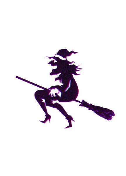 Talamex Witch Flag 30cm x 45cm