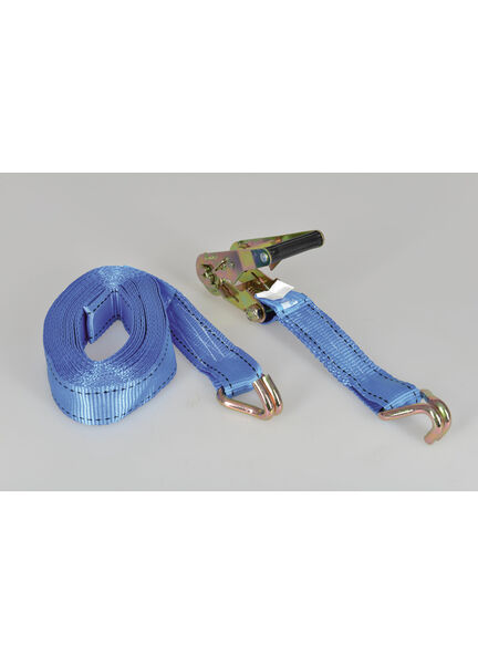 Talamex Tie-Down With Ratchet & J-Hook 38 mm (8m)