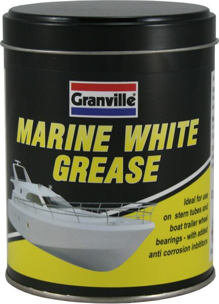 Granville Marine White Grease - 500g Tin