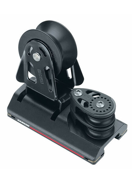 Harken 27 mm High-Load Adjusterustable CB Car 2 Sheave, 4:1