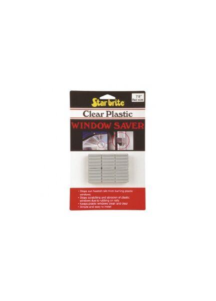 Clear Plastic Window Savers  - 6pk