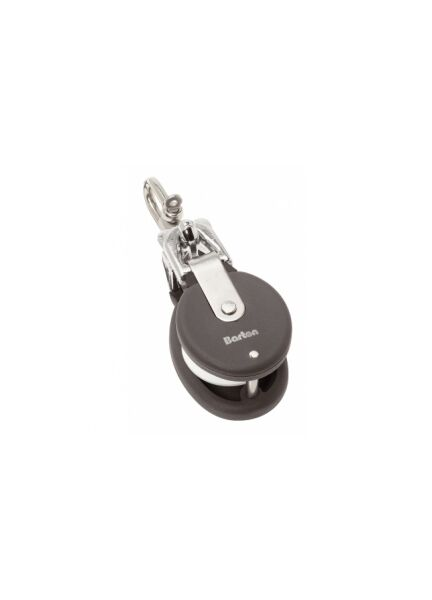 Snatch Block & Stainless Steel 'D' Shackle