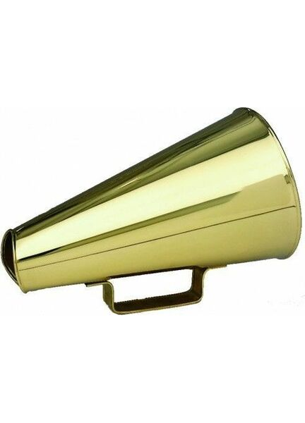 Nauticalia Brass Henley Megaphone - 30cm