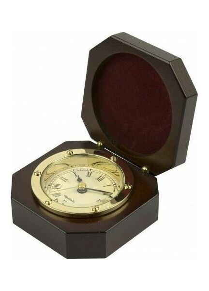 Nauticalia Clock in wooden box