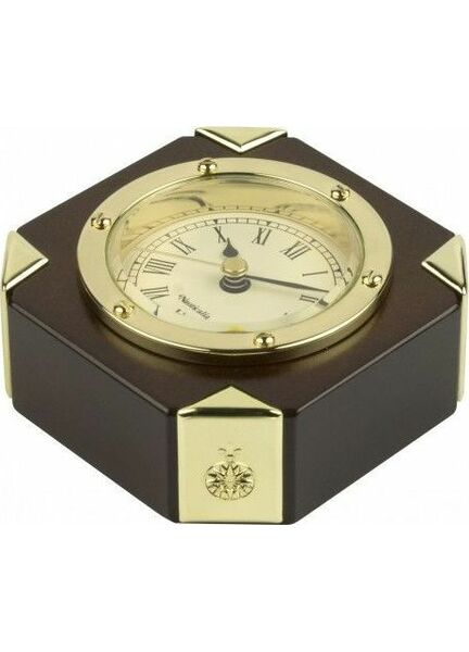 Nauticalia Clock in wooden stand