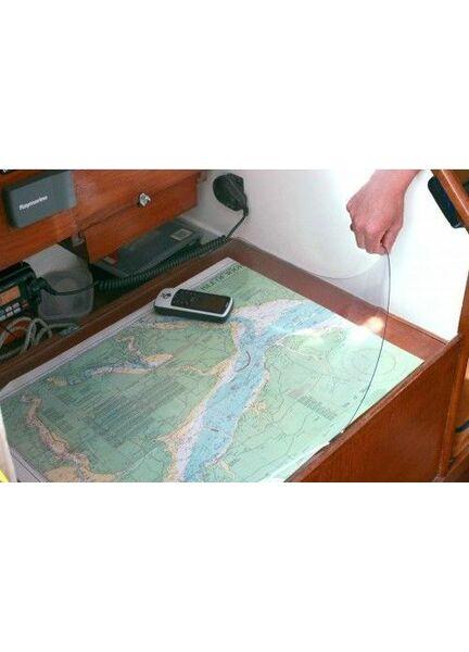 Nauticalia PVC Admiralty/Nautical Chart Cover - 1m x 1m