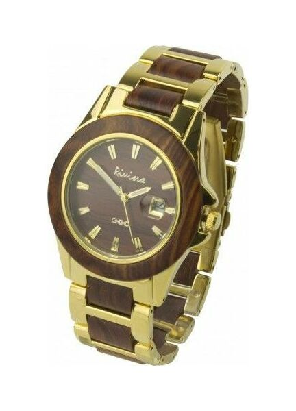 Nauticalia Gold Riviera Watch