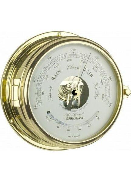 Nauticalia Brass Fleet Admiral Barometer