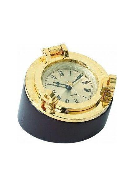 Nauticalia Brass Porthole Clock