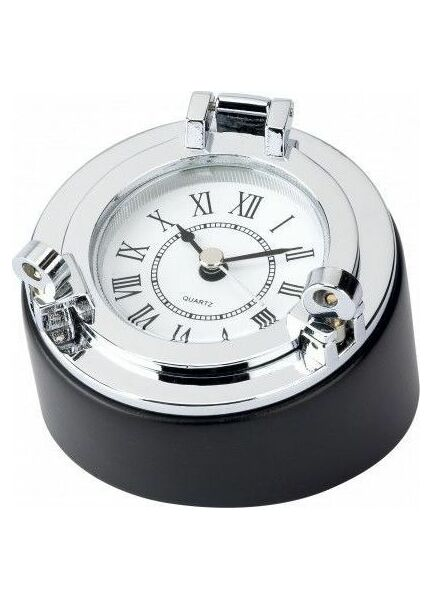 Nauticalia Chrome Porthole Style Clock/Desk/Box