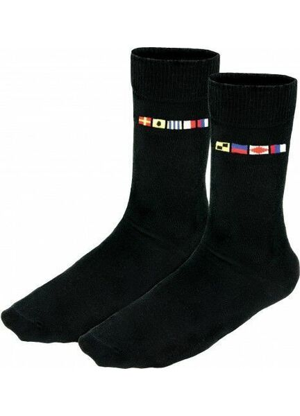 Nauticalia Code Flag Crew Socks - Left/Right