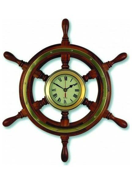 Nauticalia Clock - Ship's Wheel