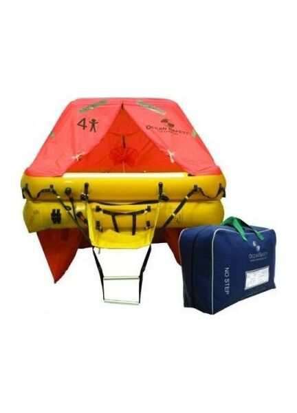 Ocean Safety Ocean ISO9650 4C 4 Person Liferaft <24 Hour Pack
