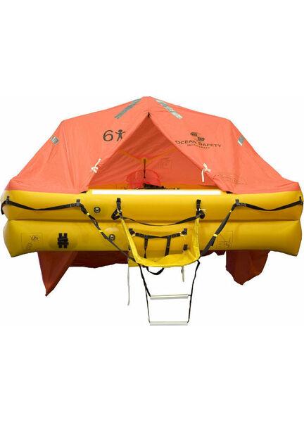 Ocean Safety UltraLite 6 Person Valise Liferaft