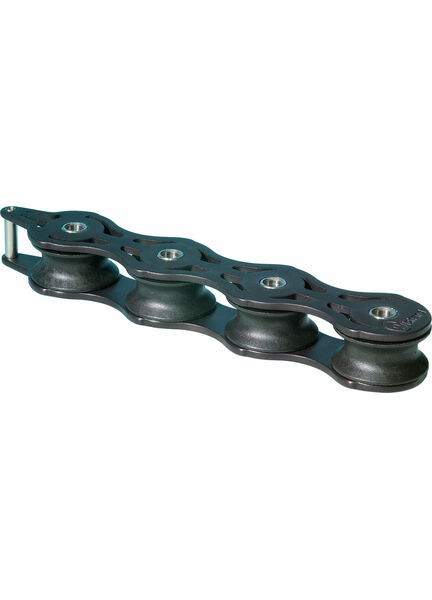 Wichard 32mm ball bearing Deck Organiser.: Quadruple
